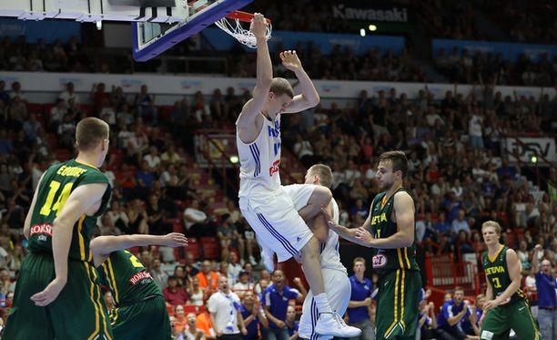 Suomi kohtaa EM-kisoissa seuraavaksi Slovenian.
