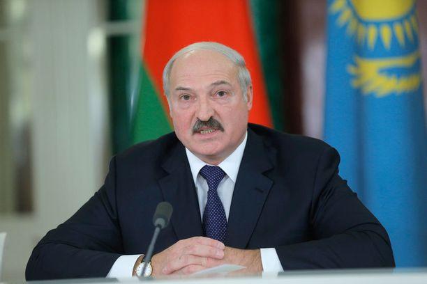 Aleksandr Lukashenko on toiminut Valko-Venäjän presidenttinä vuodesta 1994.