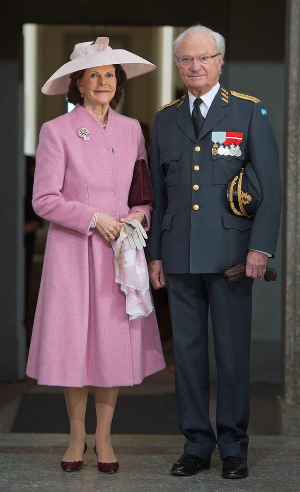 Kaarle Kustaan synttäreitä juhlittiin vappuaattona Tukholmassa.