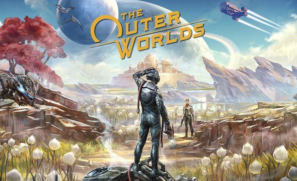 The Outer Worlds tarjoaa monimuotoisen pelimaailman tutkittavaksi.