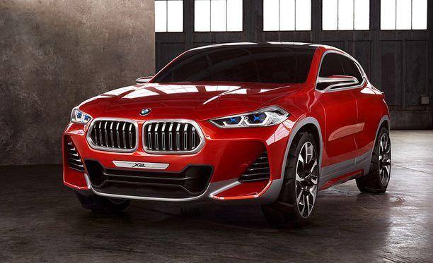 BMW X2 tuodaan myyntiin ensi vuonna.