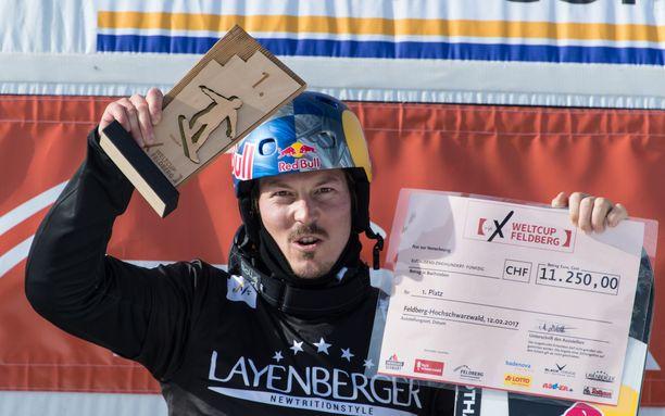 Alex Pullin voitti urallaan muun muassa kaksi MM-kultaa. Kuva vuodelta 2017.