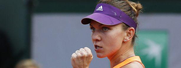 Simona Halep ylsi Roland Garrosin finaaliin.