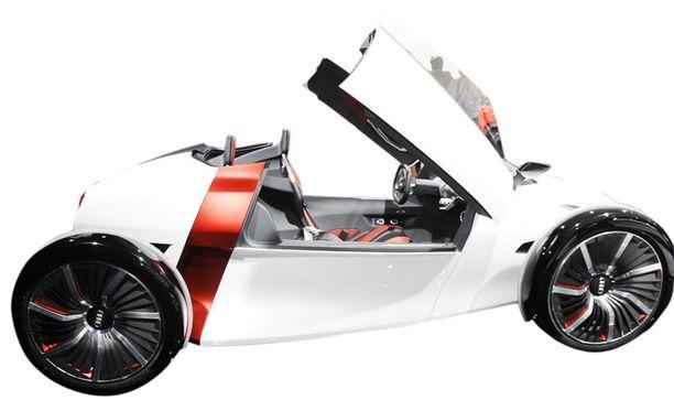 Audi Urban Consept etsii vaihtoehtoa cityliikkumiseen.
