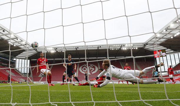 RB Leipzig ja Hertha Berlin iskevät tänään vastakkain.