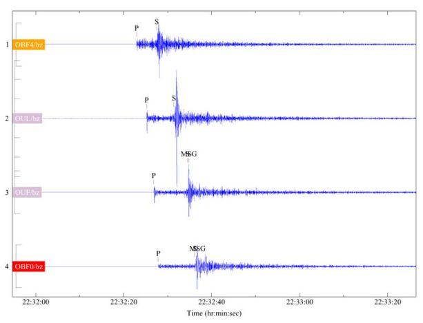 Seismologian instituutin analyysin mukaan järistys oli voimakkuudeltaan 3,0 magnitudia, mutta tarkka lukema voi vielä muuttua joitakin kymmenyksiä.