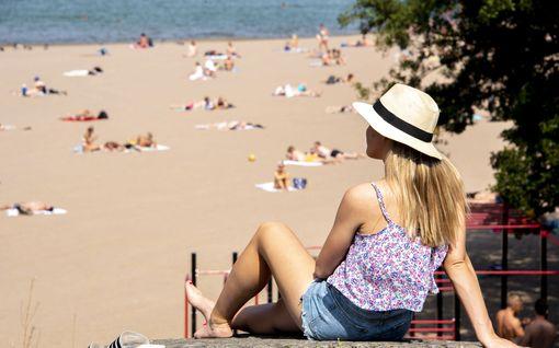 Kesäinen lämpö tekee paluuta – ensi viikolla hätyytellään jo hellettä
