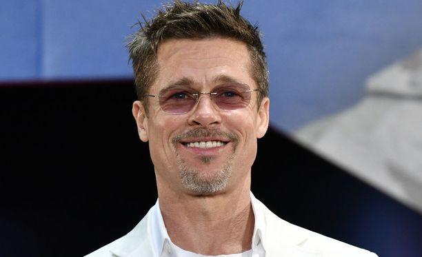 Brad Pitt on vahvistettu Quentin Tarantinon uutuuselokuvan näyttelijäkaartiin. Kuvassa Pitt toukokuussa 2017.
