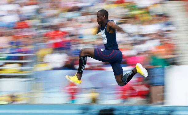 Teddy Tamgho joutuu jättäytymään sivuun olympiakisoista.