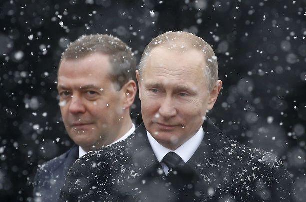Presidentti Putin haluaa tietää, kuka hänellä on vastassaan.