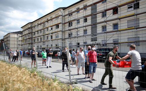 Yli 1500 tartuntaa saksalaisteurastamolla –pelko epidemiasta vei Guterslohin uudestaan karanteeniin