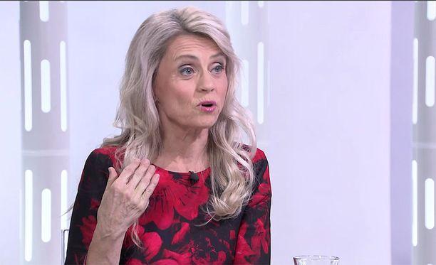 Kansanedustaja Päivi Räsänen (kd) vieraili Susanne Päivärinnan ohjelmassa 20.12.2017.