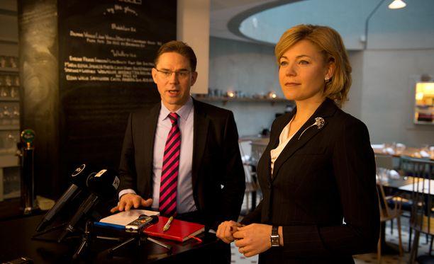 Kunta- ja hallintoministeri Henna Virkkunen ilmoitti vaalisuunnitelmistaan perjantaiaamuna.