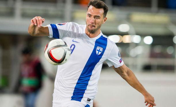 Berat Sadik on tehnyt tällä kaudella 15 maalia Kyproksella.