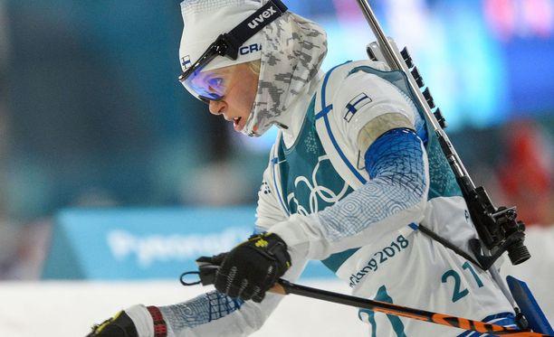 Mari Laukkanen saatetaan nähdä keskiviikkona Suomen pariviestijoukkueessa.