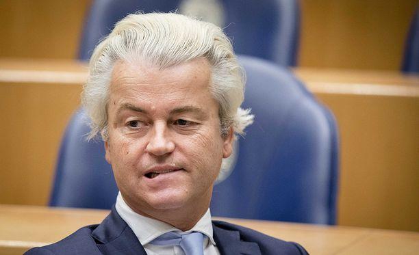 Hollannin populistisen vapauspuolueen johtaja Geert Wilders on tunnettu islamin vastaisuudestaan.
