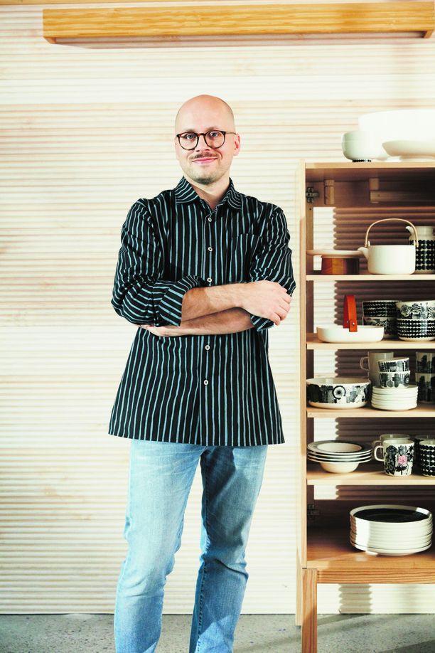 Samin suunnittelema astiasarja on yksi Marimekon suosituimmista.