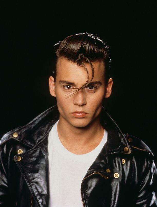 Johnny Depp Cry Baby -elokuvassa.