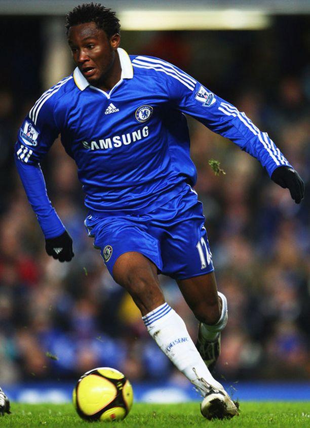 21-vuotias John Obi Mikel on edustanut Chelseaa vuodesta 2006 asti.