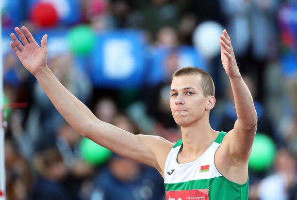 Eurooppaa edustava Maksim Nedasekau voitti korkeushyppykilpailun huipputuloksella 235.
