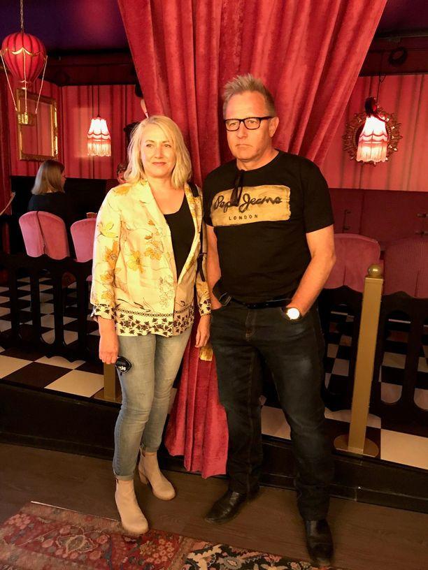 Reijo Mäki ja vaimonsa Marja ovat olleet yhdessä vuosikymmeniä.