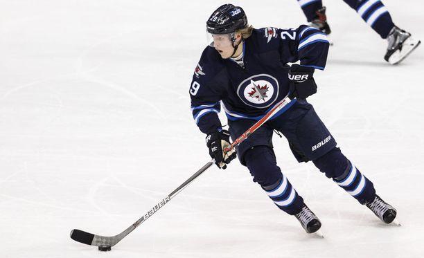 Winnipeg Jetsin Patrik Laine oli viime kaudella NHL:n paras suomalainen maalintekijä.