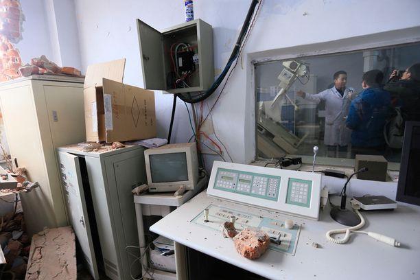 Sairaalasta tuhoutui välineitä satojen tuhansien eurojen arvosta.