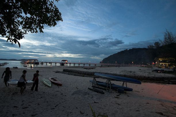 Pulau Tioman on suosittu lomakohde Malesiassa.