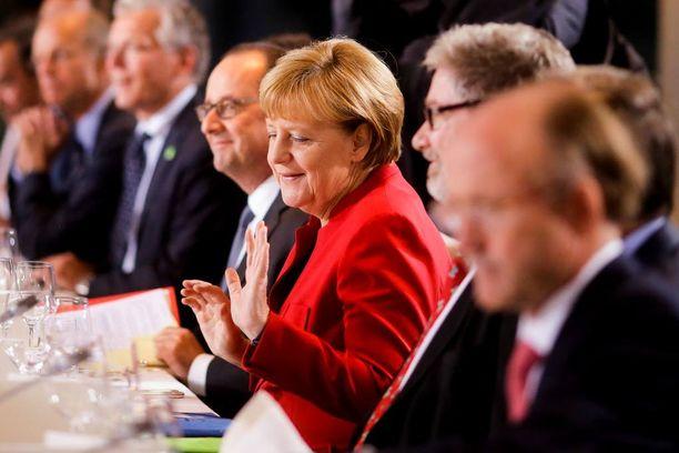 Angela Merkelillä on kaksi vaikutusvaltaista fania Yhdysvalloissa.