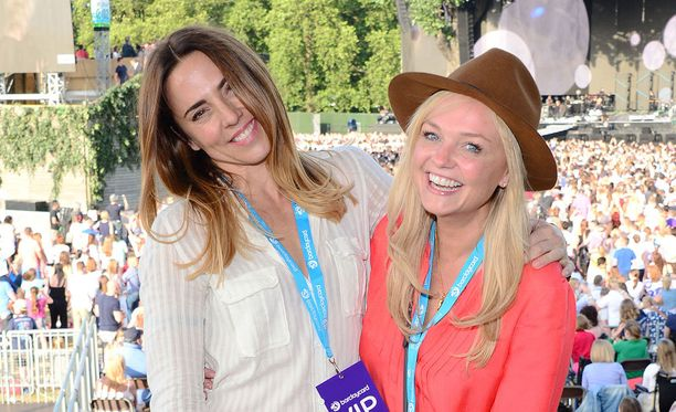 Mel C ja Emma festaroivat kesäkuun lopussa yhdessä Lontoossa.