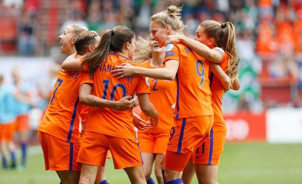 Hollanti on Euroopan mestari.