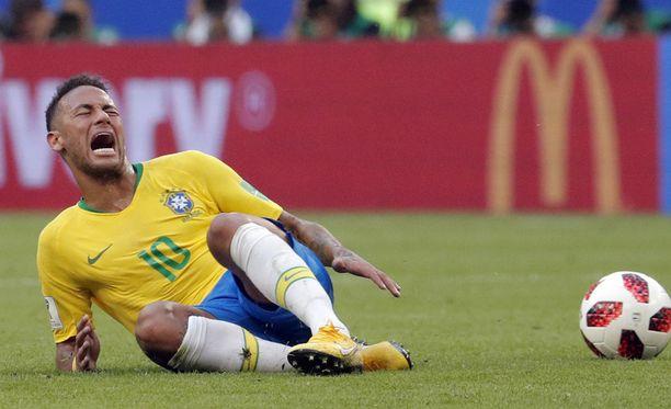 Neymaria on rikottu näissä MM-kisoissa 23 kertaa neljässä ottelussa.