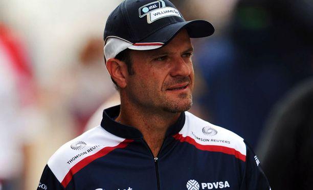 Rubens Barrichellon pitkä F1-ura ei saa jatkoa ainakaan Williamsilla.