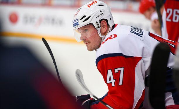 Petri Kontiola on tehnyt tulosta KHL:ssä.
