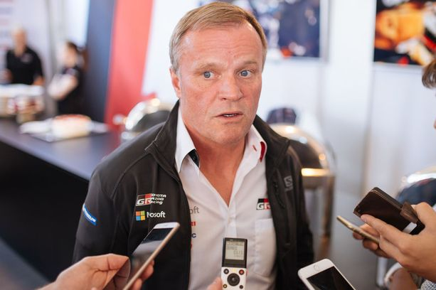 Toyota-pomo Tommi Mäkinen vakuuttaa tiimihengen kestävän kuskien kovan keskinäisen kilpailun.