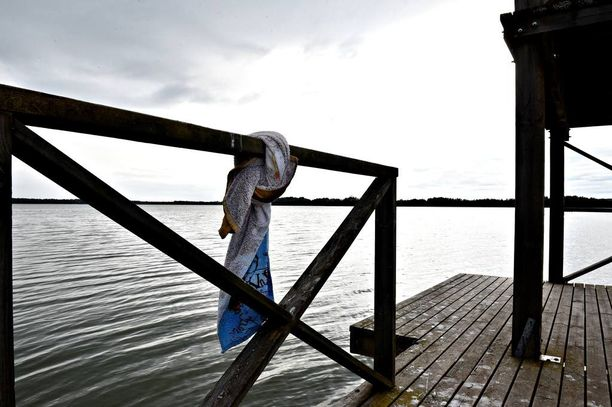 Yttilän Ottan uimarannalla on uimakielto sinilevän vuoksi.