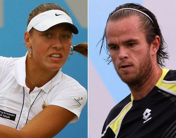 ITF armahti Yanina Wickmayerin ja Xavier Malissen.