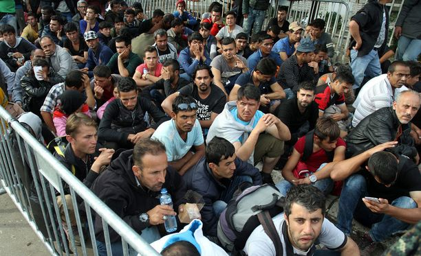 Turvapaikanhakijoita Serbiassa.