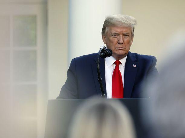 Trump on toistuvasti syyttänyt Kiinaa koronapandemiasta.
