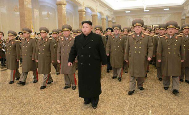 Pohjois-Korea halusi selvittää hakkerointisotkun yhdessä Yhdysvaltojen kanssa. Kuvassa Pohjois-Korean johtaja Kim Jong-un.