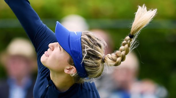 Eugenie Bouchardin uran paras saavutus on finaalipaikka Wimbledonissa kesällä 2014.