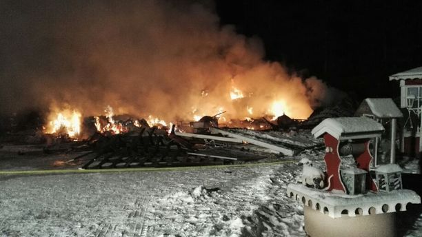 Tuli poltti Eila ja Jorma Viinamäen kodin tammikuussa maan tasalle.
