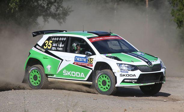 Esapekka Lappi on WRC2-luokan ykkönen.