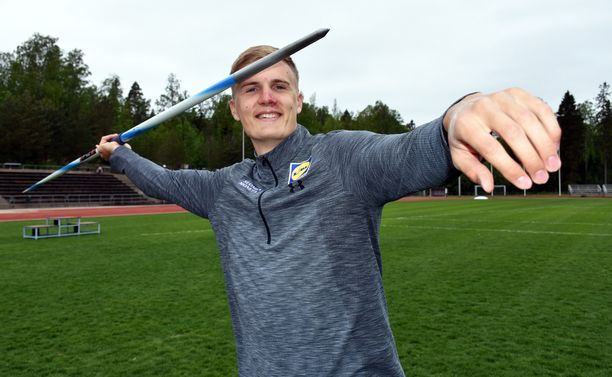 Raaseporilainen on ennätyksellään 88,02 Suomen kaikkien aikojen keihästilaston seitsemäs.