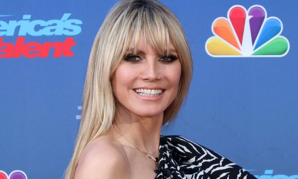 Heidi Klum on tunnettu huippumalli ja televisiojuontaja.