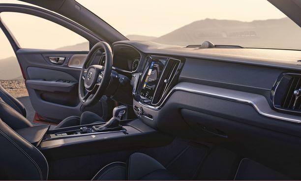 Ohjaamon ilme on tuttu Volvoista.