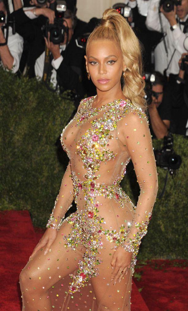 Tältä Beyonce näytti maanantaina...