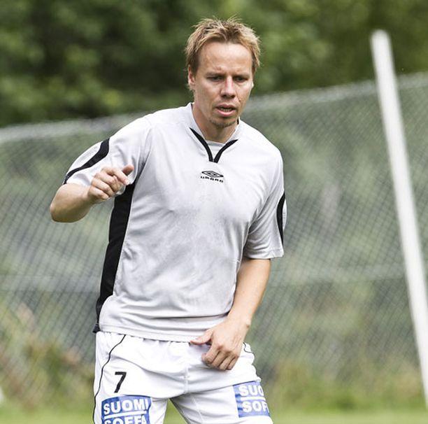 Sami Ristilä nousi Hakan päävalmentajaksi kesken viime kauden.