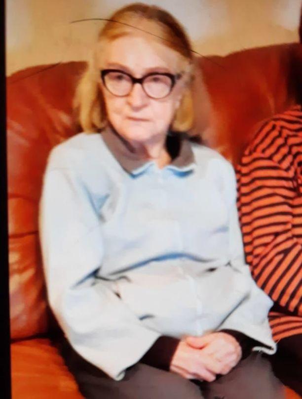 83-vuotias salolainen Saara Uuttu on ollut kateissa tiistaista lähtien.