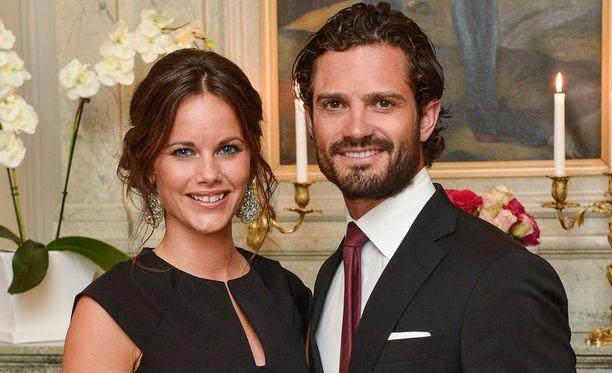 Prinsessa Sofia ja prinssi Carl Philip saavat keväällä esikoisensa.